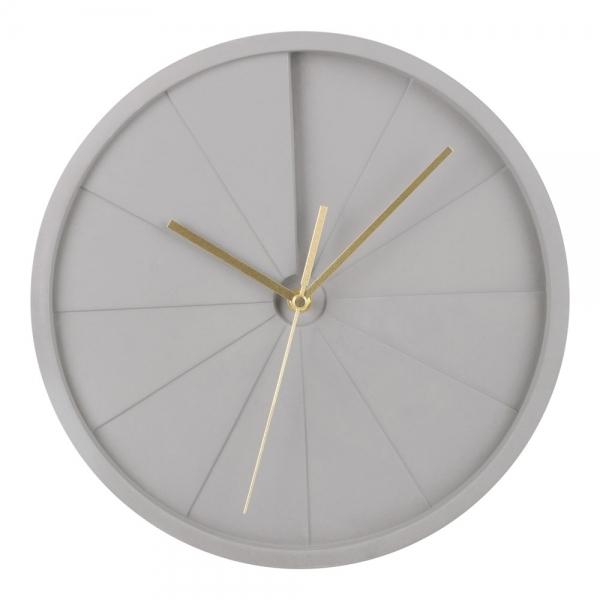 Grey Concrete Quinn Round Wall Clock Modern Wall Clocks