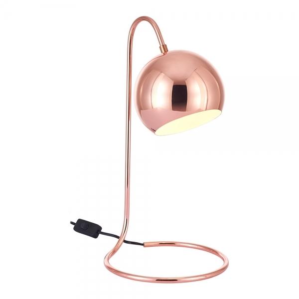 Rae Metal Desk Lamp Copper