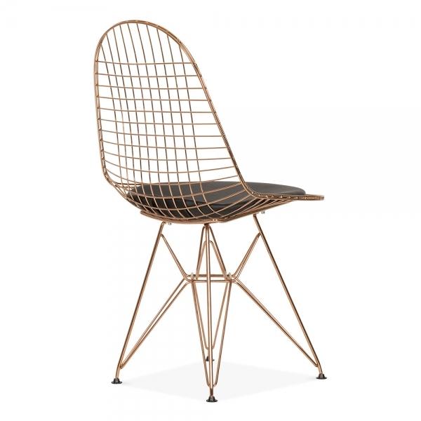 Pleasant Dkr Style Wire Dining Chair Copper Uwap Interior Chair Design Uwaporg