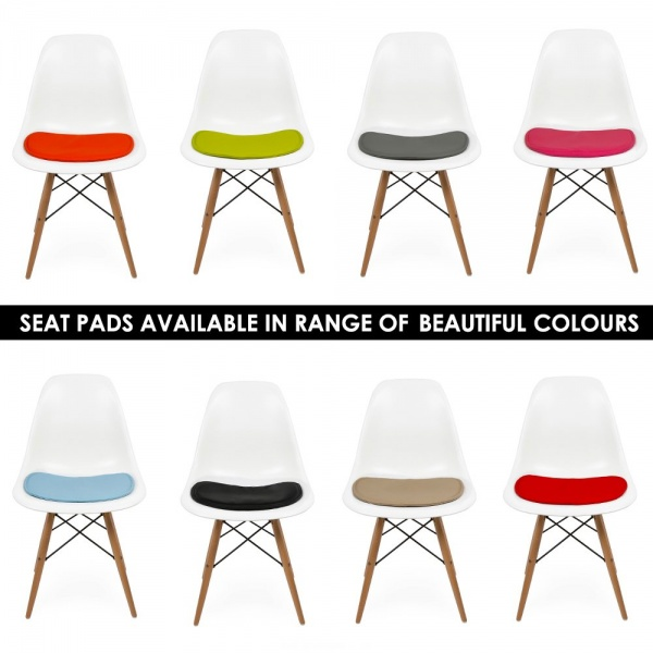 Seat Pad Cushions For Dsw Style Or Dsr, Eames Side Chair Cushion