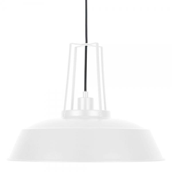 White shiro industrial metal pendant light modern ceiling lights cult living shiro industrial metal pendant light white aloadofball Images
