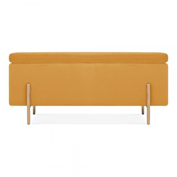 Marvelous Valerie Ottoman Storage Bench Velvet Upholstered Mustard Pdpeps Interior Chair Design Pdpepsorg