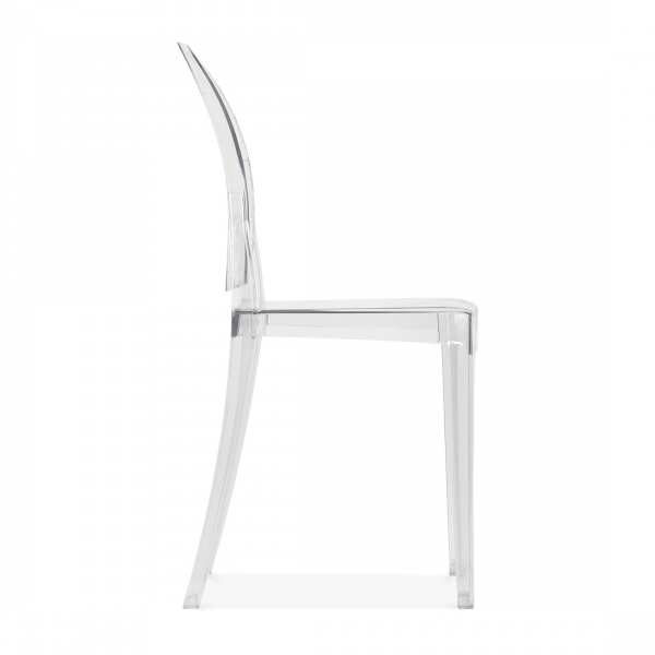 Ghost Victoria Dining Chair   Clear
